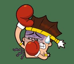 Fahlun -Thai boxer sticker #3306127