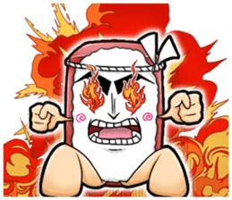 Daily life of SUSHI MAN sticker #3316018