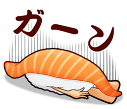 Daily life of SUSHI MAN sticker #3316049