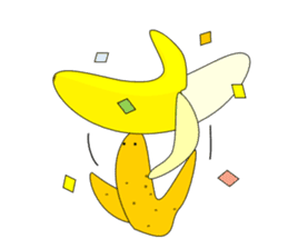 The True Intention of the Banana part 2 sticker #3317934