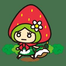 Strawberry hood sticker #3320778