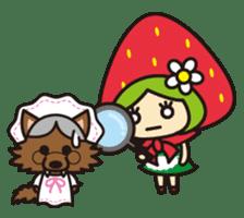 Strawberry hood sticker #3320783