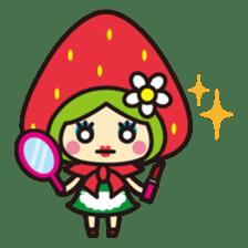 Strawberry hood sticker #3320785