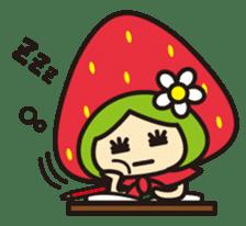 Strawberry hood sticker #3320787