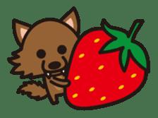 Strawberry hood sticker #3320792