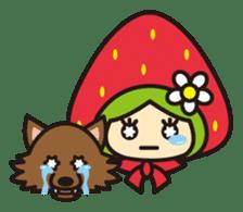 Strawberry hood sticker #3320793