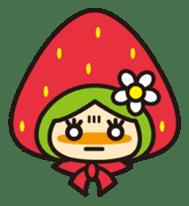 Strawberry hood sticker #3320794
