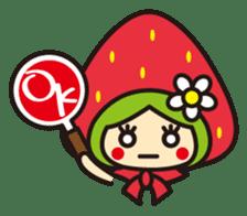 Strawberry hood sticker #3320796