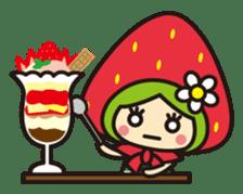 Strawberry hood sticker #3320804