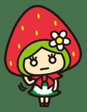 Strawberry hood sticker #3320806