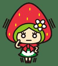 Strawberry hood sticker #3320807