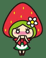 Strawberry hood sticker #3320808