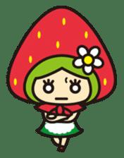 Strawberry hood sticker #3320809
