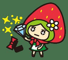 Strawberry hood sticker #3320812