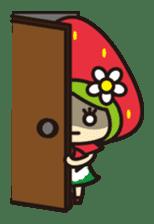 Strawberry hood sticker #3320813