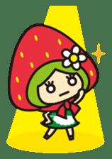 Strawberry hood sticker #3320814