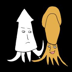 Creature like squid