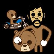 สติ๊กเกอร์ไลน์ The Uncle Bear