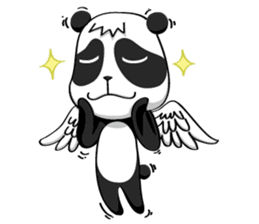 Daccoon Panda & Raccoon sticker #3331299