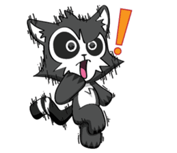 Daccoon Panda & Raccoon sticker #3331315