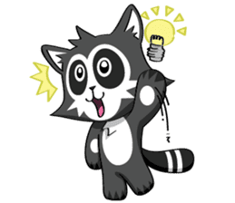 Daccoon Panda & Raccoon sticker #3331330