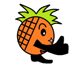 Pineapple Boy sticker #3348274