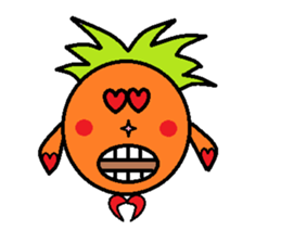 Pineapple Boy sticker #3348285
