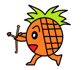 Pineapple Boy sticker #3348287