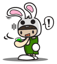Boo Bunny sticker #3349142