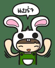Boo Bunny sticker #3349144