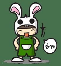 Boo Bunny sticker #3349145