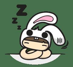 Boo Bunny sticker #3349146