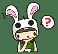 Boo Bunny sticker #3349147