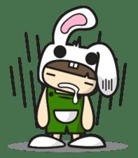 Boo Bunny sticker #3349148