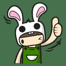 Boo Bunny sticker #3349149