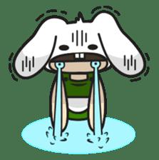 Boo Bunny sticker #3349150