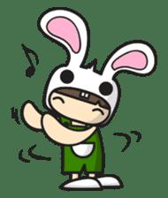 Boo Bunny sticker #3349151