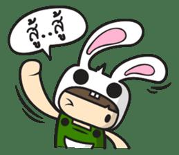 Boo Bunny sticker #3349156