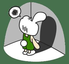 Boo Bunny sticker #3349157