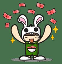 Boo Bunny sticker #3349158