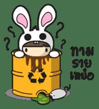 Boo Bunny sticker #3349162