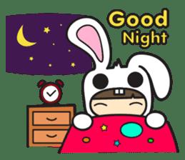 Boo Bunny sticker #3349163