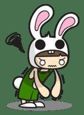 Boo Bunny sticker #3349165