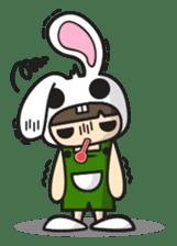 Boo Bunny sticker #3349166