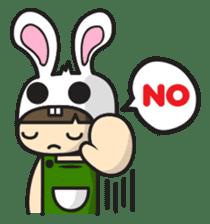 Boo Bunny sticker #3349167