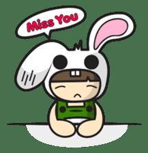 Boo Bunny sticker #3349168