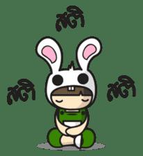 Boo Bunny sticker #3349172
