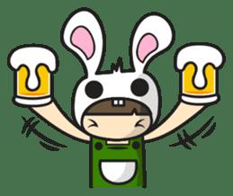 Boo Bunny sticker #3349175