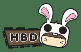 Boo Bunny sticker #3349177