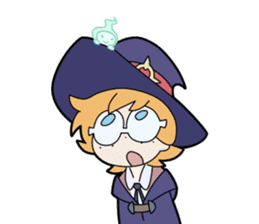 Little Witch Academia sticker #3352126